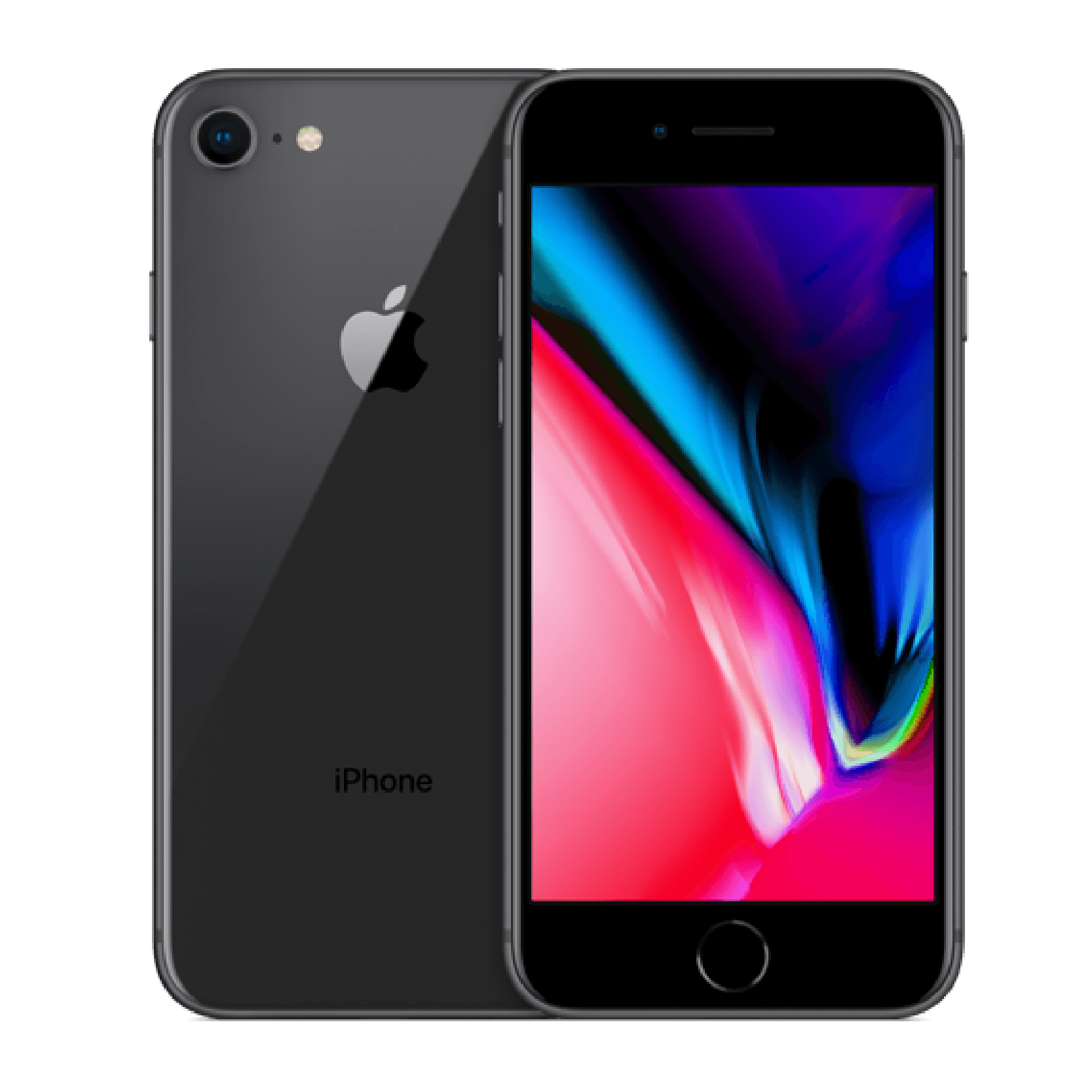 iPhone 8 Back and Front